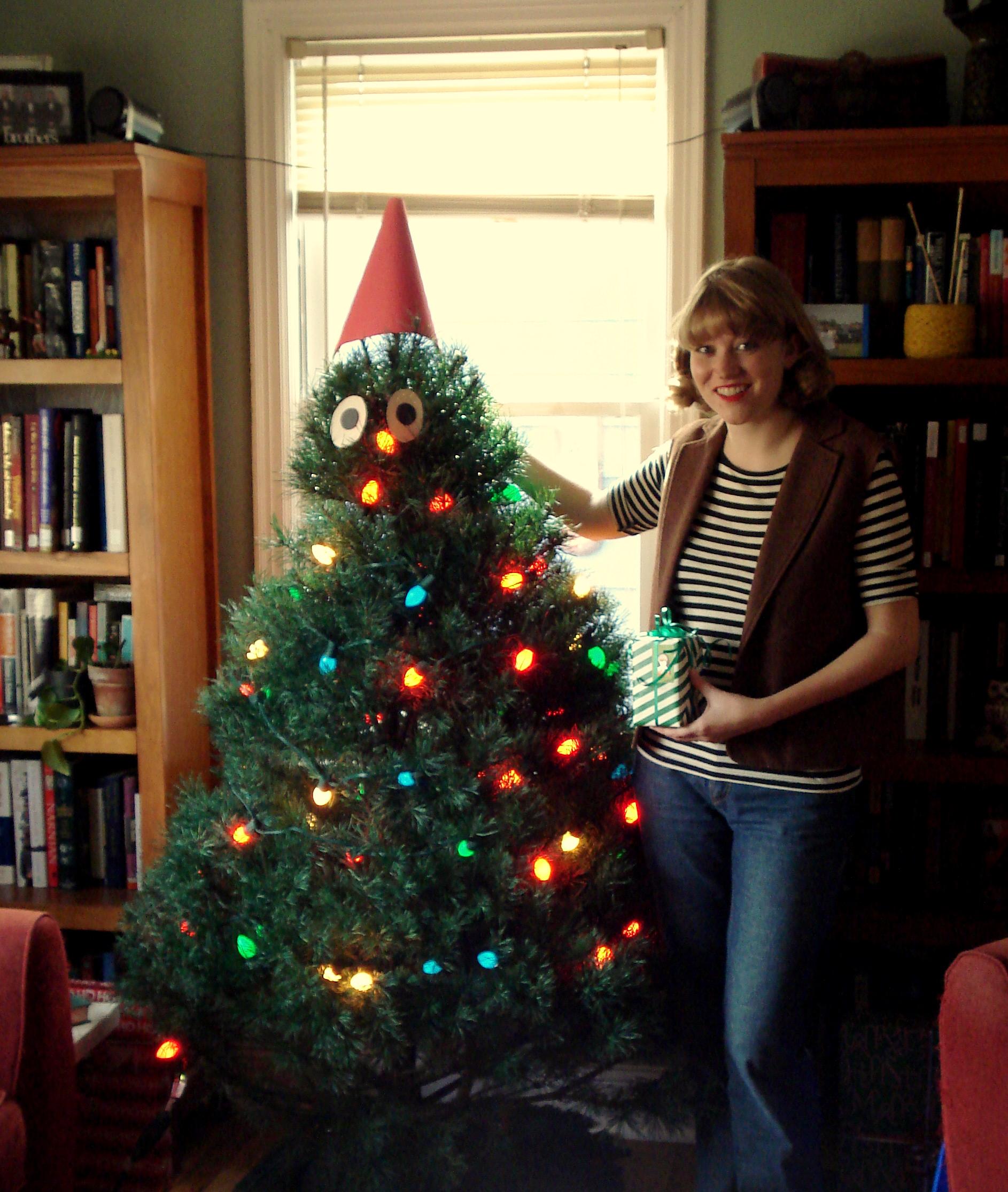 Gnome For The Holidays: A Christmas Tree Gnome |