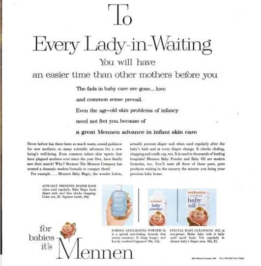 Vintage Pregnancy Euphemism